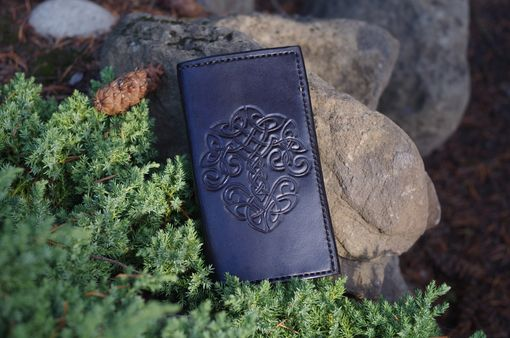 Custom Made Checkbook Cover Or Long Wallet