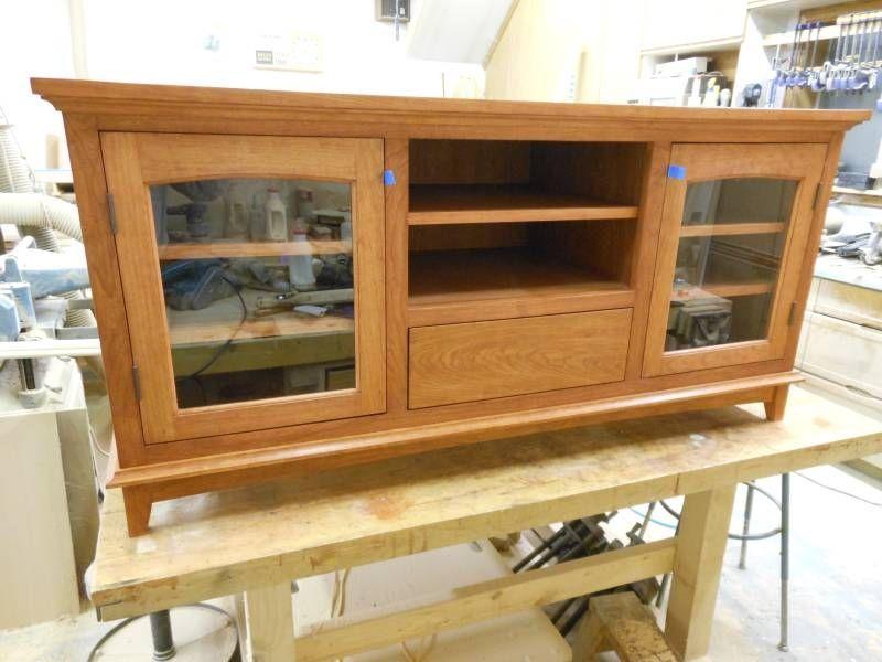 custom tv stand by k h gunderson. Black Bedroom Furniture Sets. Home Design Ideas