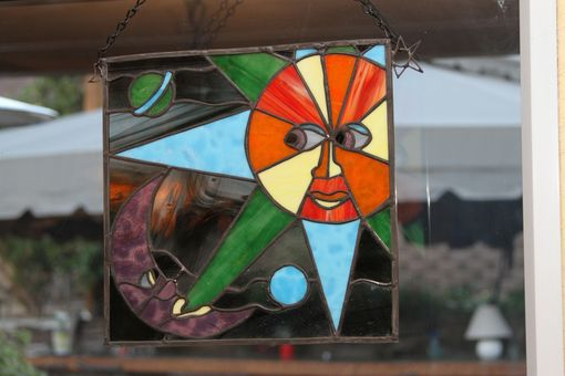 Custom Made Kids Art Into Stained Glass.