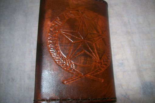 Custom Made Trifold Leather Wallet