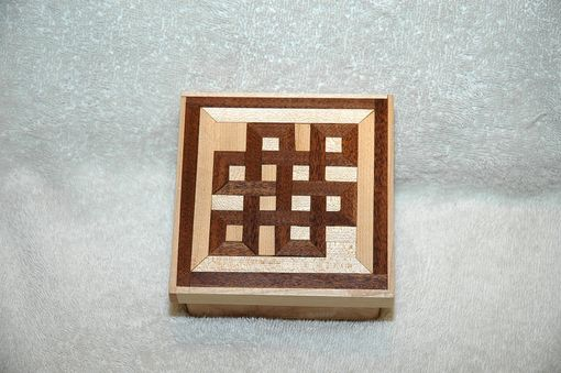 Custom Made Inlaid Infinity Knot Box