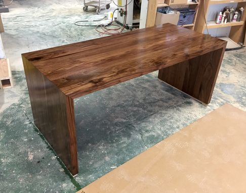 Custom Made Modern Parsons Desk