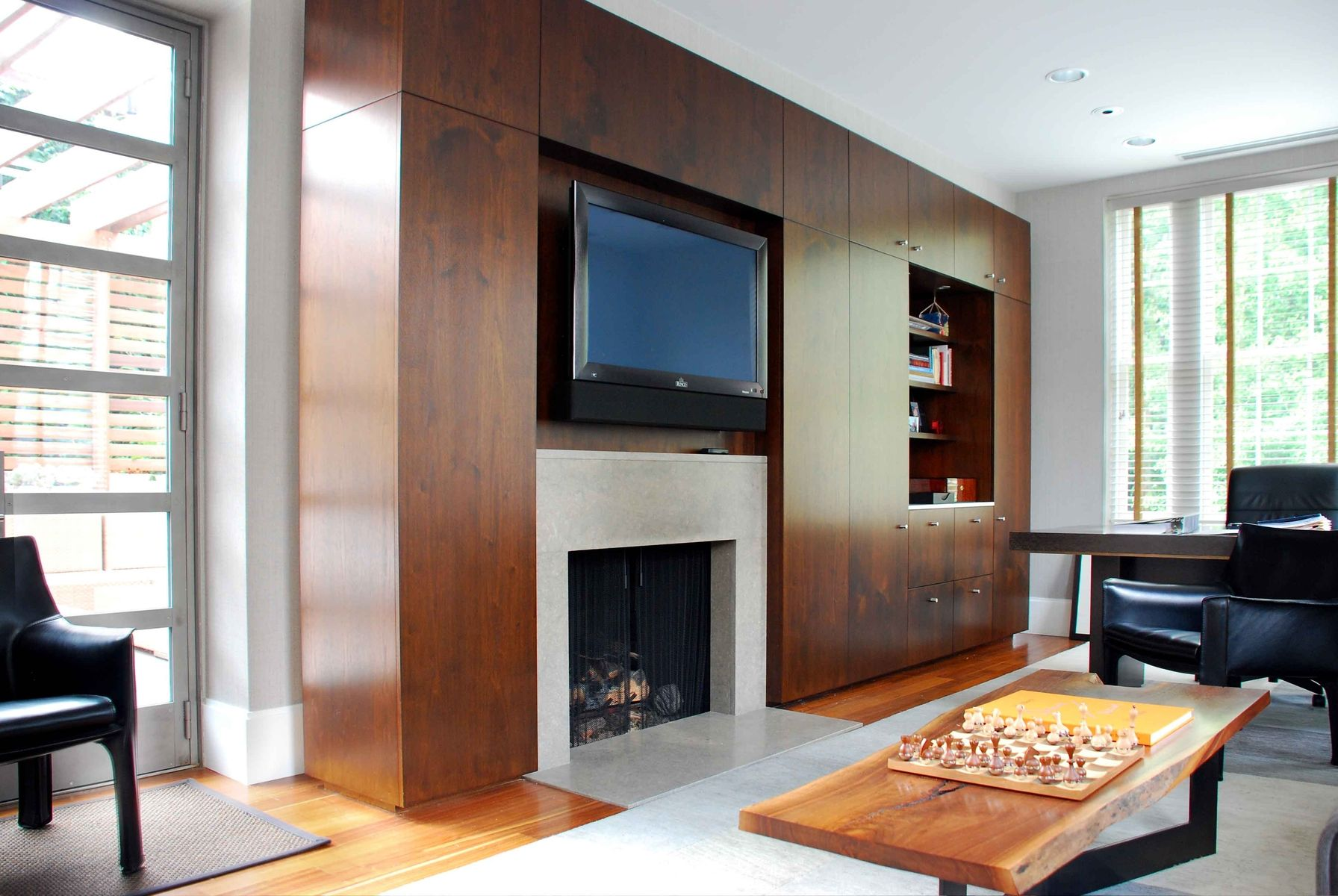 Custom Contemporary Built Ins By Furniture By Design