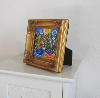Custom Made Miniature Still Life Painting Original Acrylic