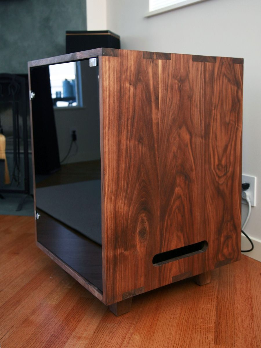 Custom Made Stereo Cabinet by Cress Carpentry | CustomMade.com