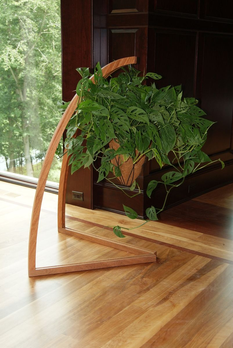 Hand Made Plant Stand By M S Moeller Cabinetry Amp Millwork