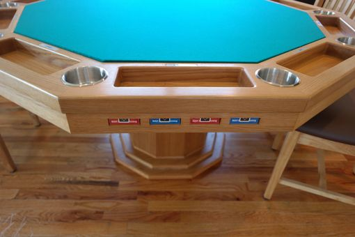 Custom Made Custom Poker Table