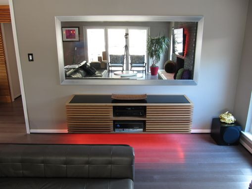 Custom Made Floating Credenza