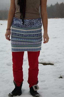 Custom Made Snowdrift Mini/Layering Skirt- Size L (10/12)