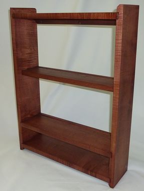 Custom Made Curly Cherry Wall Shelf