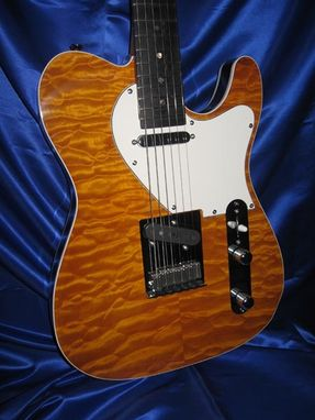 "Custom Made Amber ""Tele"""