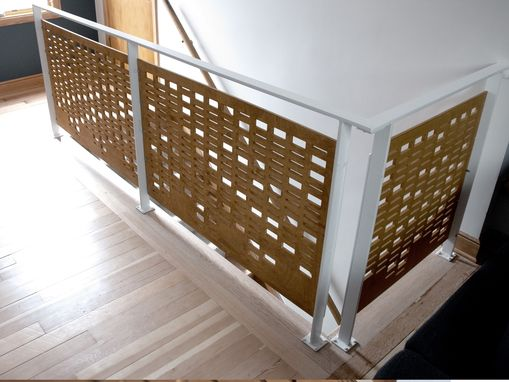Custom Made Wooden Railings And Bannisters