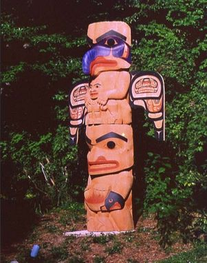 Custom Made Totem Pole