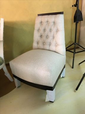 Custom Made Tufted Chair