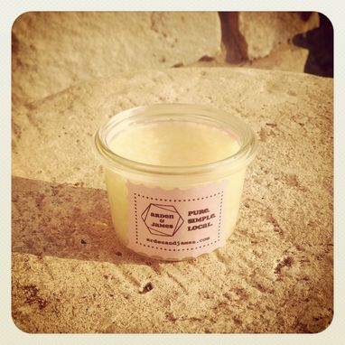Custom Made Coco Honey Butter/Hand And Body /Salve /Lotion/Coconut Oil/Beeswax/Safflower Oil /Weck Jar