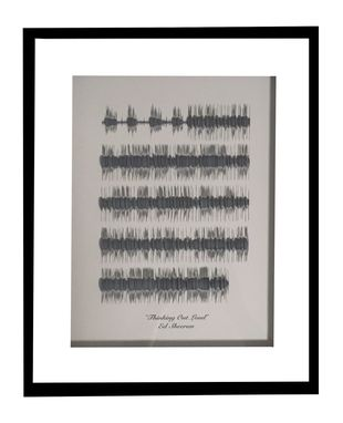 Buy A Custom Made Song Lyrics 3d Sound Wave Art Wedding Song