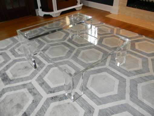 Custom Made Coffee Table - Slab Style Up To 1.5 Thick Acrylic