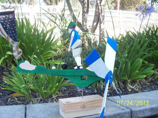 Custom Made The Golf Hacker Whirligig