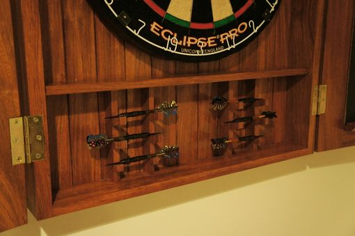 Hand Crafted Dart Board Cabinet by Bucks County ...