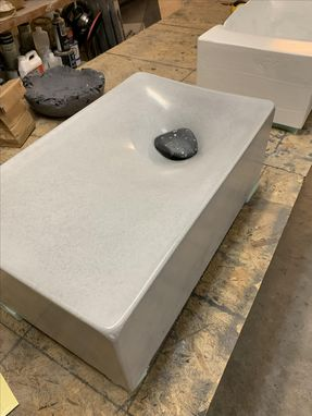 Custom Made Concrete Tiny Sink Aka The Drip Sink