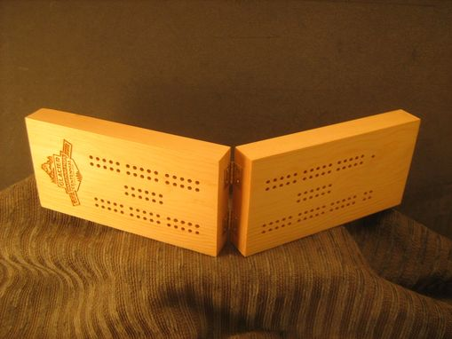 Custom Made Custom Travel Cribbage Board
