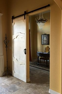 Custom Made Venetian Sliding Door