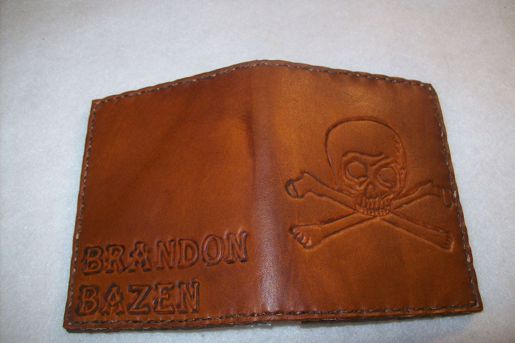 Personalized Wallets | Monogrammed Leather Wallets | CustomMade.com