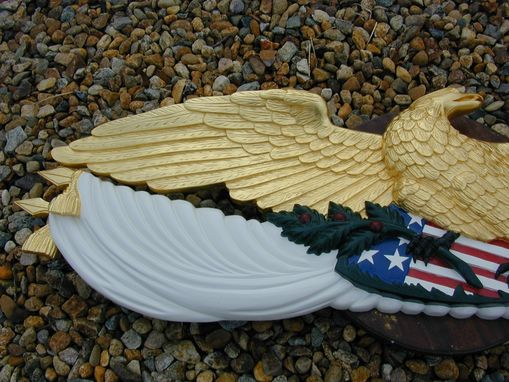 Custom Made 1851 America Eagle 1/2 Scale From The Original