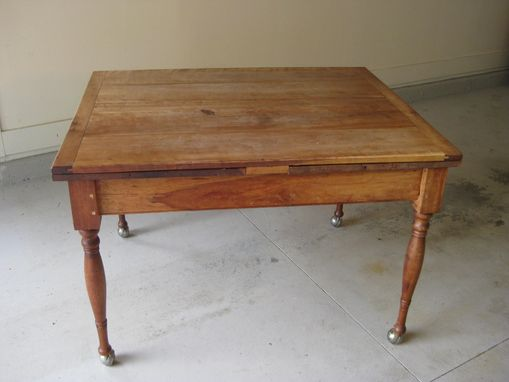 Custom Made Farm House Draw Leaf Table
