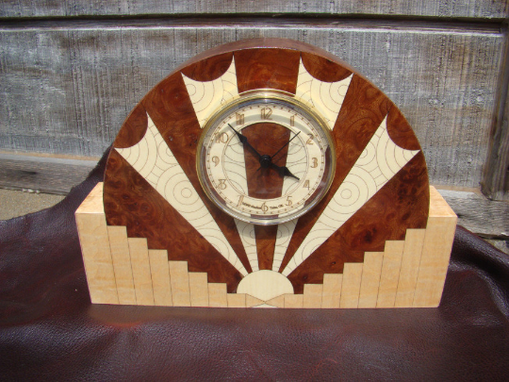 Custom Made Art Deco Motif, Handcrafted In The U.S.  Mc-45