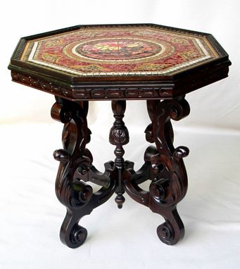 Custom Made Octagonal Mosaic Table