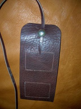 Custom Made Leather Fly Pouch