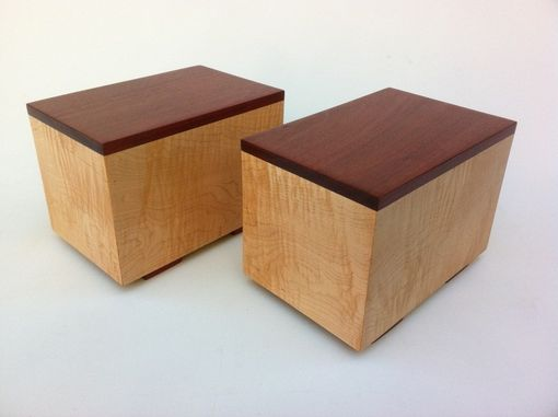Custom Made Matching Modern Cremation Urns Made To Order By Studio 1212 Furniture