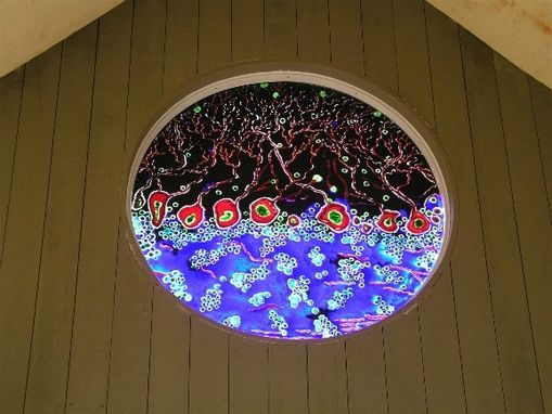 Custom Made Entry Window At Cell Signaling In Beverly, Ma