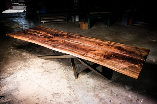 Custom Made 4x12ft Walnut Live Edge Dining Table/Conference Table