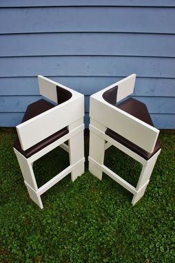 Custom Made Triangular Counter Stools