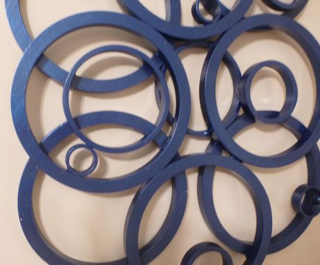 Custom Made Circle Or Ring Wall Art