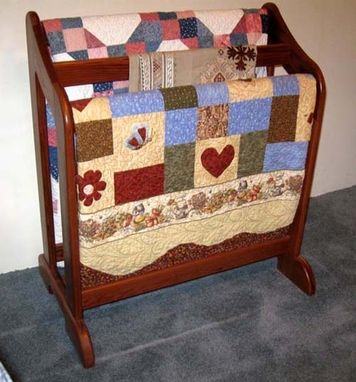 Custom Made Quilt Stand