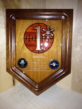 Custom Made Special Operations Group Retirement Plaque