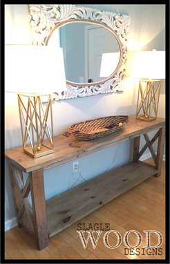 Custom Made The X Console / Entry Table