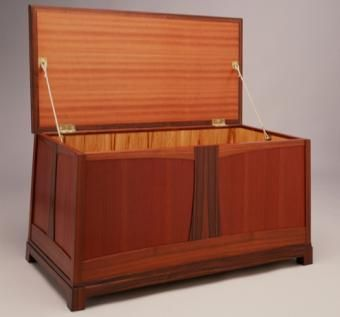 Custom Made Art Nouveau Chest