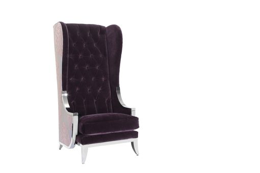 Custom Made French Modernique Wing Chair