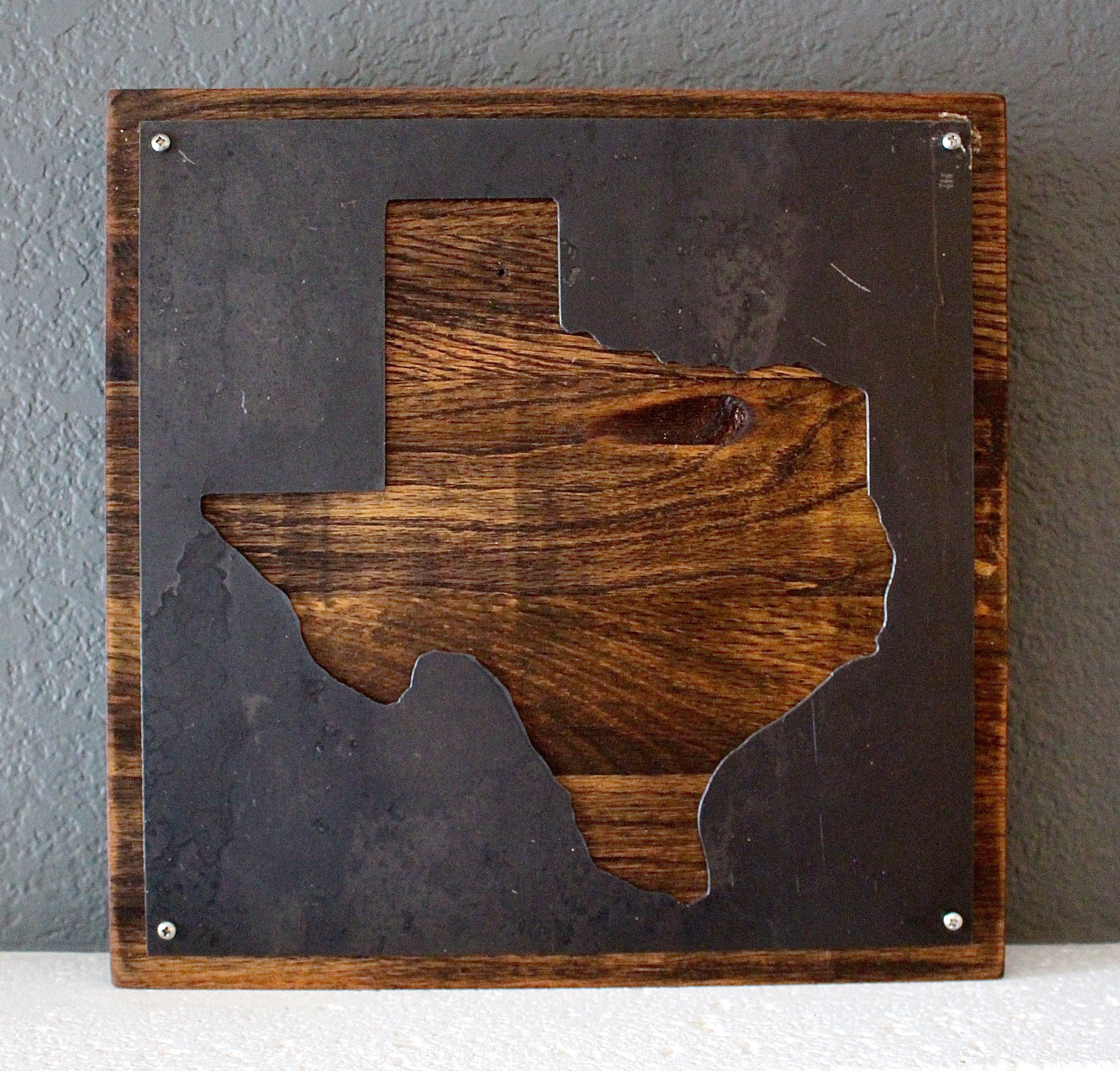 Buy a Custom Metal Texas Wall Decor, made to order from callum