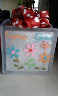 Custom Made Personalized Glass Blocks By Retha 39 S Touch Of