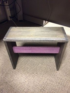 Custom Made Shaker Style Foot Stool