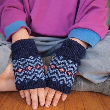 Custom Made Fingerless Mitts