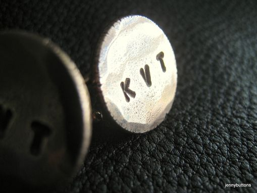 Custom Made Nyf Bronze Cuff Links