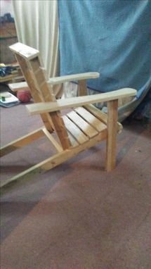 Custom Made Kids Adirondack Chair