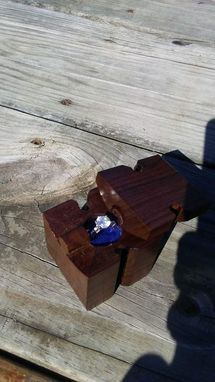 Custom Made Puzzle Ring Box