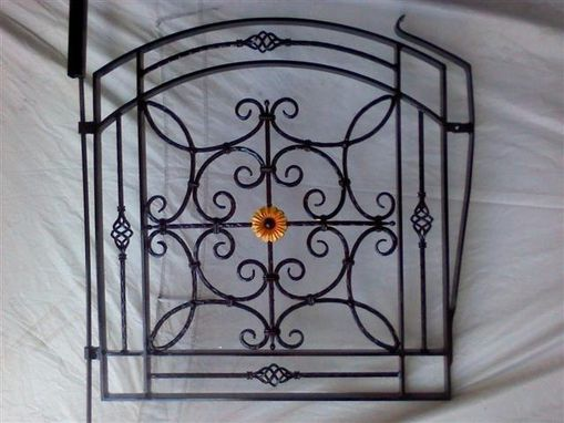 Custom Made Garden Gate